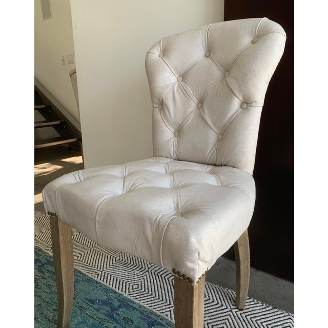 Metal Timothy Oulton's Halo Chester Dining Chairs- A Pair For Sale - Image 7 of 12