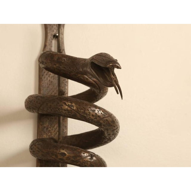 French Decorative Metal Serpent - Image 9 of 9