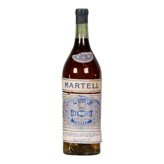 "1940s French Large Scale Replica Bottle of ""Martell"" Cognac For Sale"
