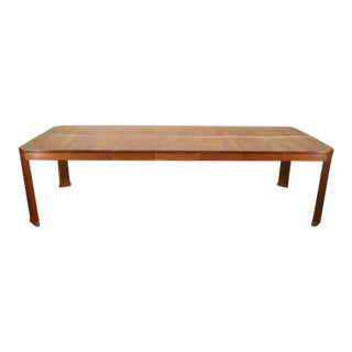 Mission Arts and Crafts Stickley Solid Cherry Dining Table For Sale