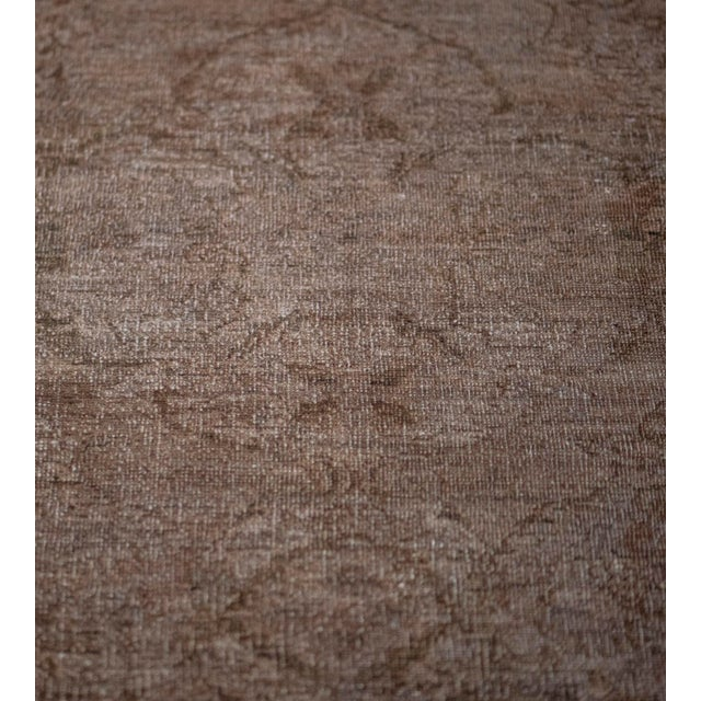 Indian Handwoven Wool Agra Style Rug For Sale - Image 3 of 8