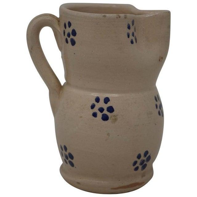 Ceramic Vintage Puglia Apulia Italy Ceramic Pitcher For Sale - Image 7 of 7