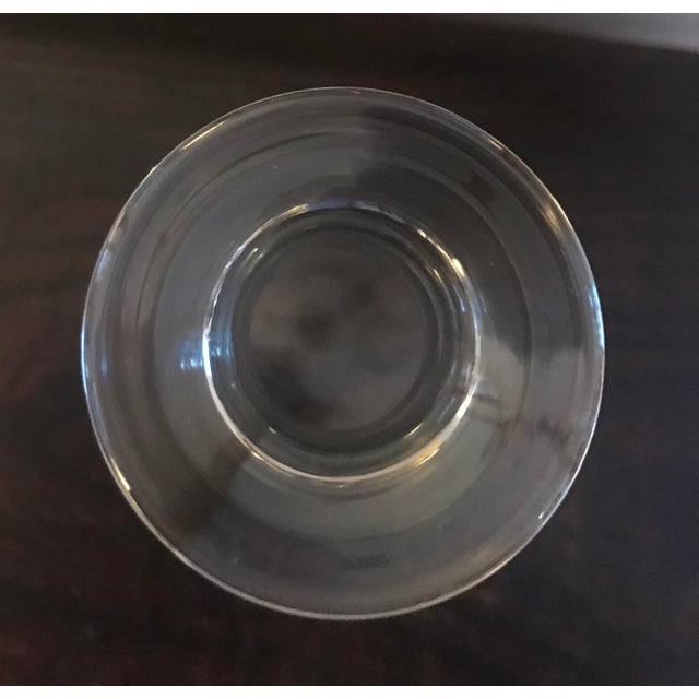1970s Baccarat Mid Century Modern Crystal Decanter For Sale - Image 5 of 13