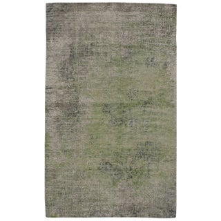 Pasargad N Y Modern Pure Bamboo Silk Hand Knotted Area Rug - 5' X 8' For Sale