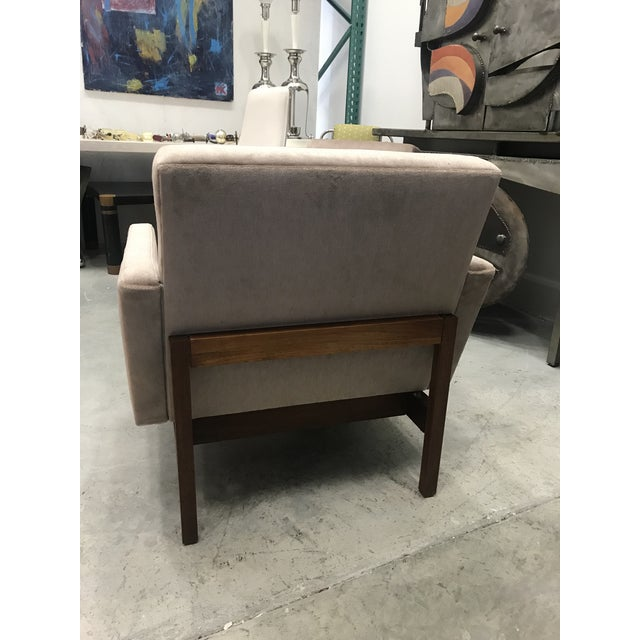 1970s Vintage Danish Club Chairs- A Pair For Sale In Miami - Image 6 of 12