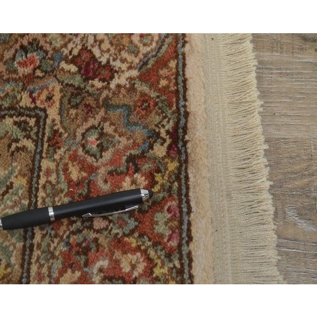 "Karastan Empress Kirman 2'6"" X 8'6"" Runner Area Rug Carpet (A) For Sale - Image 9 of 12"