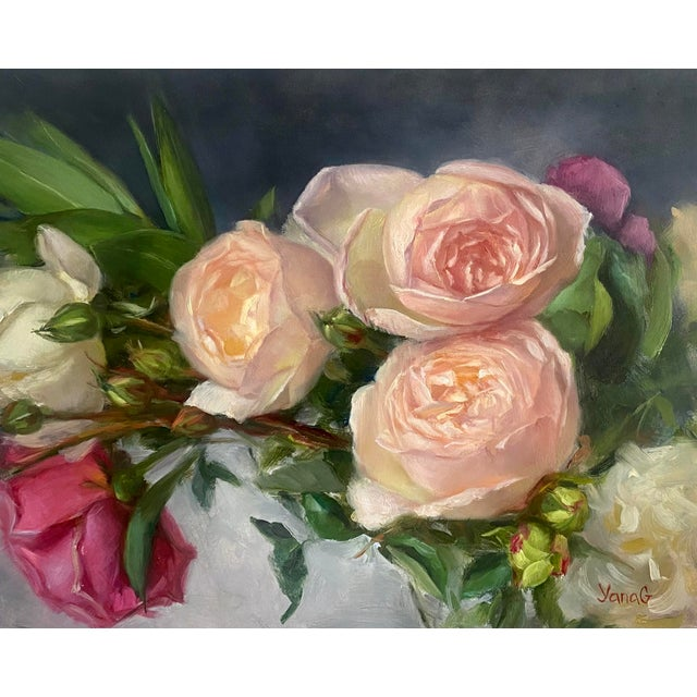 This original oil painting was created by me from life using professional artist grade oil colors. It is painted on...