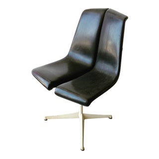 Vintage Richard Schultz Knoll Art Metal Series Dining Chair For Sale