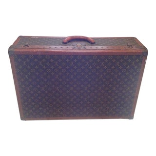 Mid-20th Century Louis Vuitton Hard Case Bisten Luggage For Sale