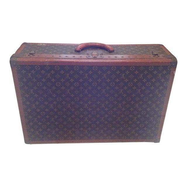 Mid-20th Century Louis Vuitton Hard Case Bisten Luggage For Sale