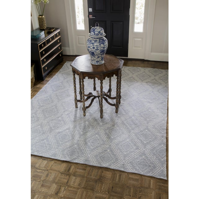 """Erin Gates by Momeni Easton Pleasant Grey Indoor/Outdoor Hand Woven Area Rug - 5' X 7'6"""" For Sale In Atlanta - Image 6 of 7"""