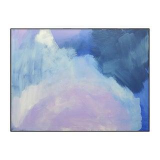 """""""Abstract Lavender Bloom"""" Framed Fine Art Giclée Print For Sale"""