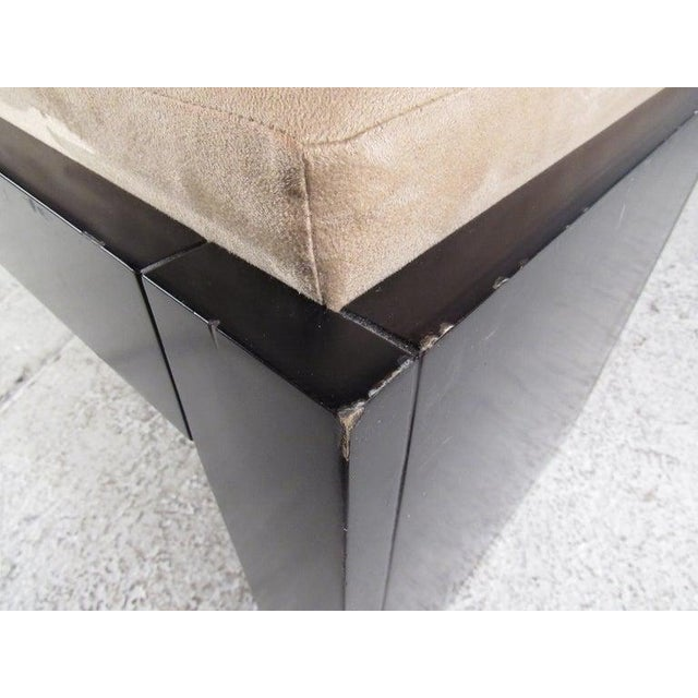 Modern Decorator Bench For Sale - Image 9 of 11
