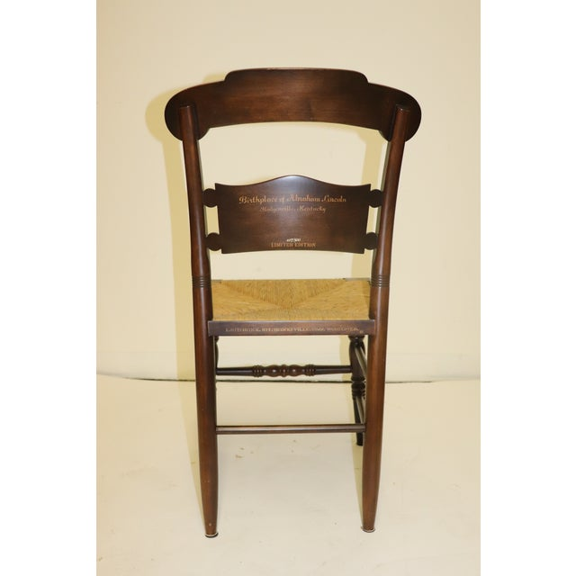 1970s Vintage Hitchcock Limited Edition Chair For Sale In Philadelphia - Image 6 of 11