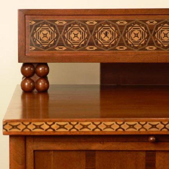 Jugendstil Jugendstil Desk after Olbrich For Sale - Image 3 of 7