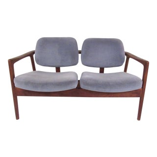 Vintage Modern Loveseat by Dux For Sale