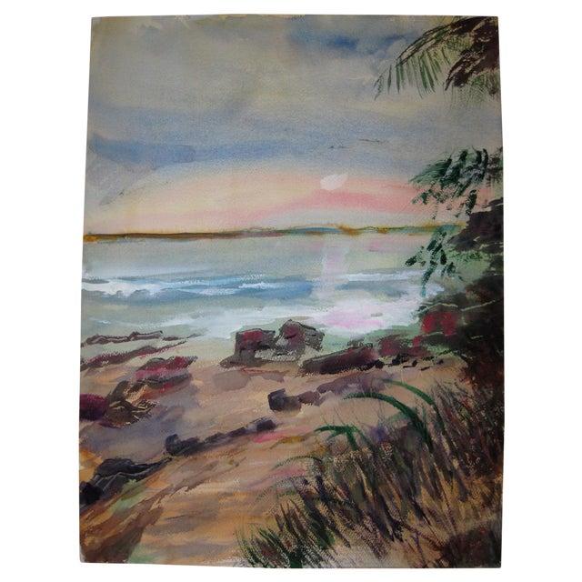 Original Alice J.Behrle Water Color Painting - Image 1 of 3