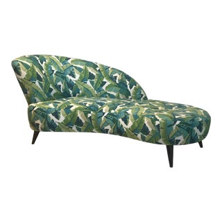 Palm Beach Chaise Lounge One of a Kind For Sale
