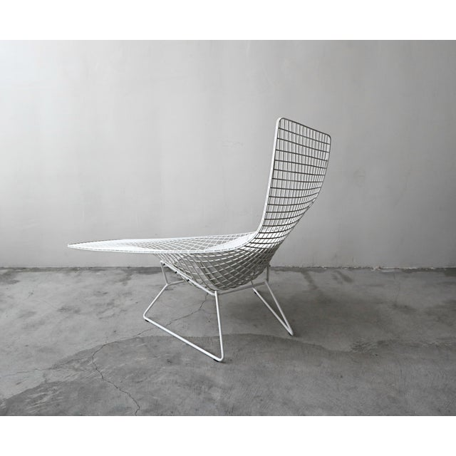 Knoll Authentic Knoll Bertoia Asymmetric Chaise For Sale - Image 4 of 8