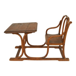 Thonet Austrian Bentwood Child Desk For Sale