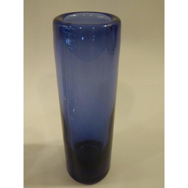Superb 1960s Per Lutken Cylinder Vases Group Holmegaard Denmark