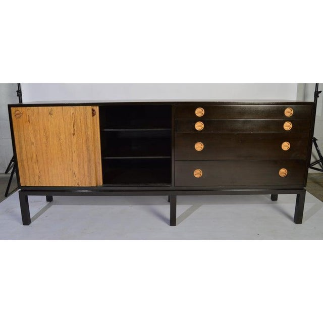 Brown Harvey Probber Rosewood and Mahogany Credenza For Sale - Image 8 of 12