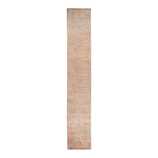"""Vibrance Hand Knotted Runner Rug - 2' 5"""" X 14' 4"""" - Image 1 of 4"""