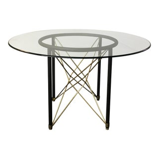 Post Modern Geometric Dining Table For Sale