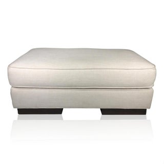 Mitchell Gold Vintage Upholstered Ottoman Preview