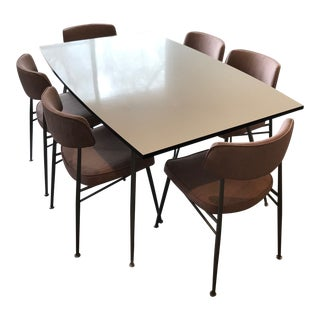 1960s Mid-Century Modern Daystrom Dinette Set - 7 Pieces For Sale