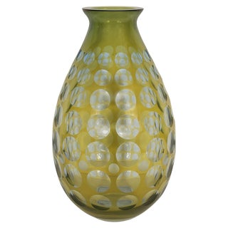 Murano Tear Drop Form Vase For Sale