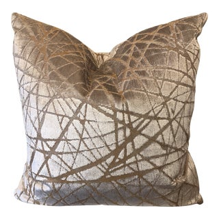 "Kravet Couture ""Parisio""In Sand 22"" Pillows-A Pair For Sale"