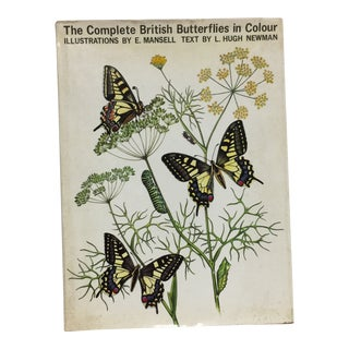 1968 British Butterflies in Colour Book For Sale