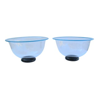 Vintage 1989 Kosta Boda Handblown Bowls - a Pair For Sale