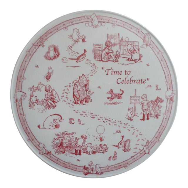 Spode Pooh Cake Plate For Sale