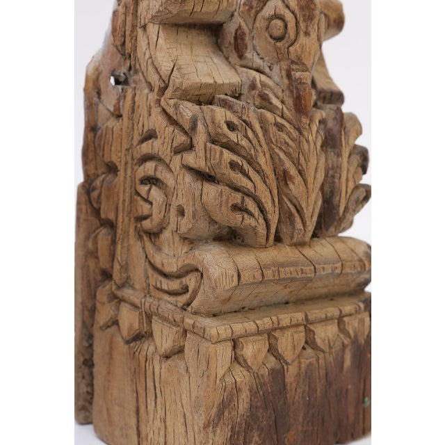 19th century architectural fragment hand-carved in India.