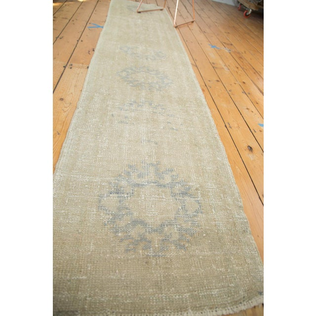 "Vintage Oushak Runner Rug - 2'2"" x 10'3"" - Image 4 of 7"