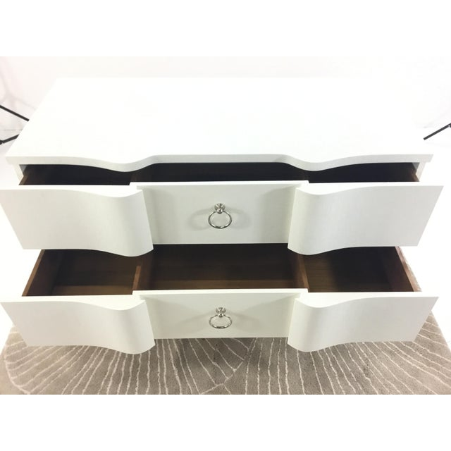 2010s Bungalow 5 Bardot Three Drawer White Chest For Sale - Image 5 of 8