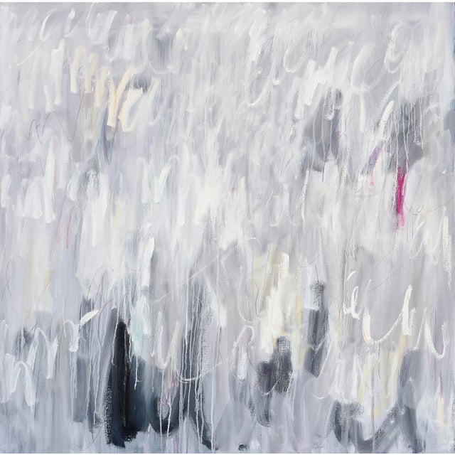 """Abstract Linc Thelen, """"Tinder"""" For Sale - Image 3 of 3"""