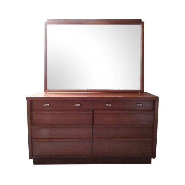 Cavalier Mid-Century Modern Dresser W/ Mirror - Image 1 of 10