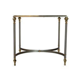 Italian Brass and Steel Side Table Preview