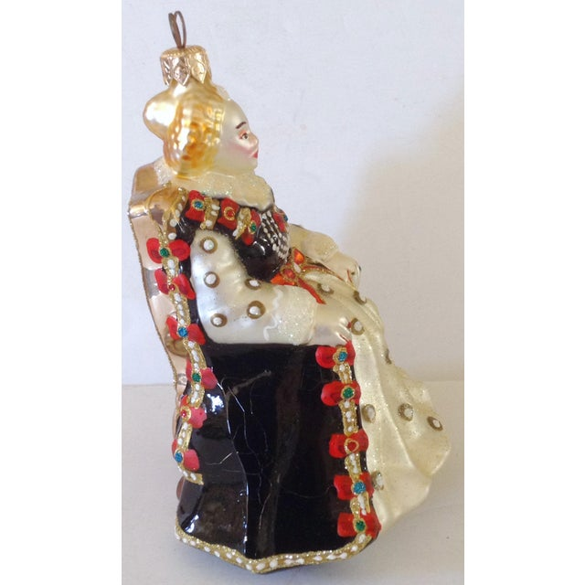 Traditional Kurt Adler Polonaise Queen Ornament For Sale - Image 3 of 4
