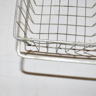 Vintage Metal Wire Locker Basket Preview
