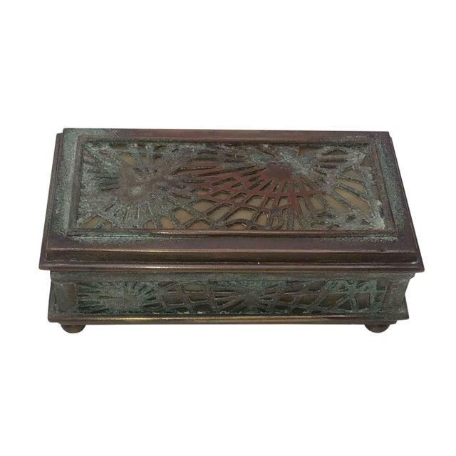 Black Tiffany Studios Stamp Box For Sale - Image 8 of 8