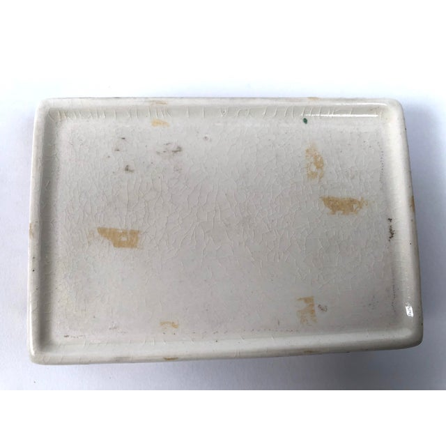Metal Staffordshire Sunderland Lustreware Porcelain Box With Sailor and Ship Theme For Sale - Image 7 of 12
