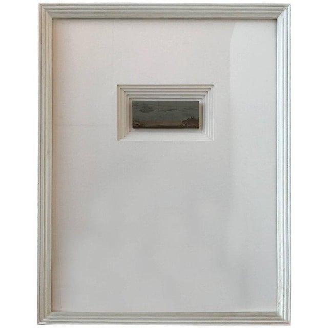 2010s 21st Century Custom Framed Paesan For Sale - Image 5 of 5
