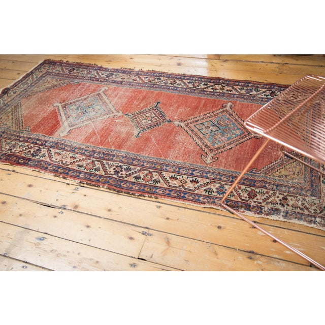 """Antique Malayer Rug Runner - 3'8"""" x 7'6"""" For Sale - Image 4 of 13"""