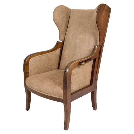 Reclining Wing Chair - Image 1 of 6