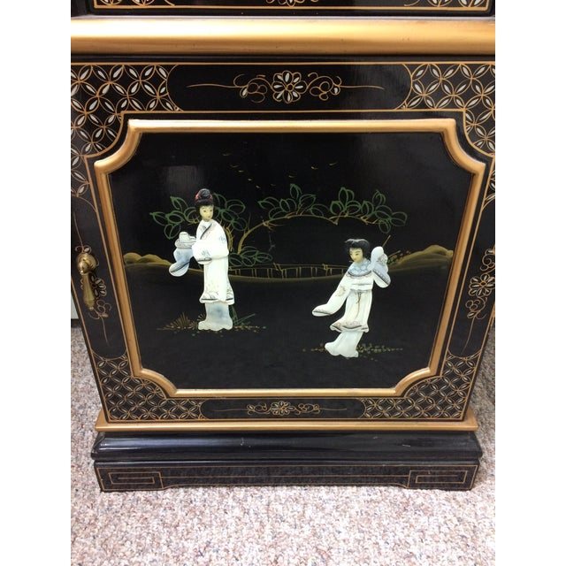 Vintage Chinese Grandfather Clock - Image 6 of 6