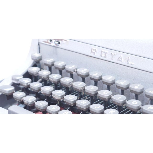 Vintage Royal Quiet Deluxe Typewriter - Image 7 of 9